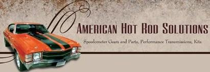 American Hot Rod Solutions speedometer gears